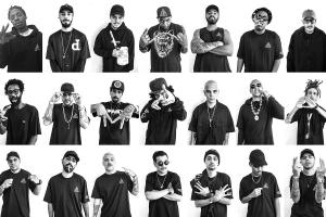 Maior dream team do hip hop nacional Damassaclan se apresenta no Opinião